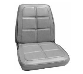 Dante's Mopar Parts - Mopar Seat Cover 1969 Charger Dukes of Hazzard OEM Style B-body Seat Front Buckets