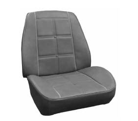 Dante's Mopar Parts - Mopar Seat Cover 1969 Charger Dukes of Hazzard Rallye Seat B-body Seat Front Buckets