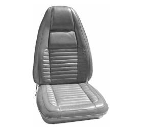 Dante's Mopar Parts - Mopar Seat Cover 1970 Charger RT, Charger 500 & Charger B body Front Buckets