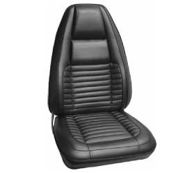 Dante's Mopar Parts - Mopar Seat Cover 1970 Charger RT & Charger 500 Leather Style Front Buckets