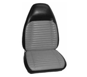 Dante's Mopar Parts - Mopar Seat Cover 1971 Charger RT, Charger 500 & Superbee Front Buckets