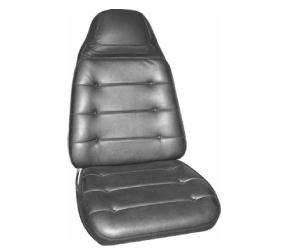 Dante's Mopar Parts - Mopar Seat Cover 1972-73 Charger SE & Charger B body Front Buckets