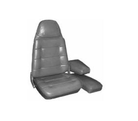 Dante's Mopar Parts - Mopar Seat Cover 1974 Dodge Charger SE & Charger Front Buckets - Image 1