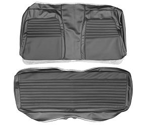 Dante's Mopar Parts - Mopar Seat Covers 1972 Dodge Charger Deluxe Style Rear Bench Seat Cover - Image 1