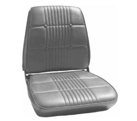 Dante's Mopar Parts - Mopar Seat Covers 1968 Coronet RT & Coronet 500 OEM Style Front Buckets