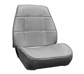 Dante's Mopar Parts - Mopar Seat Covers 1968 Coronet RT & Coronet 500 Rallye Seat B body Front Buckets - Image 1