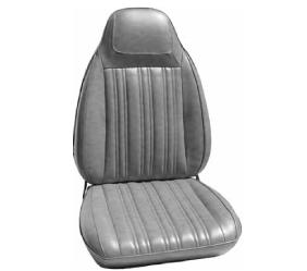 Dante's Mopar Parts - Mopar Seat Covers 1970 Coronet RT, Coronet 500 & Superbee B body Front Buckets