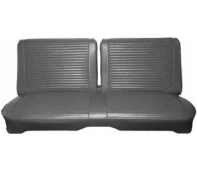 Dante's Mopar Parts - Mopar Seat Covers 1966 Coronet 440 B body Front Split Bench