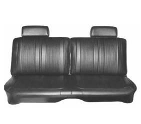 Dante's Mopar Parts - Mopar Seat Cover 1969 Coronet 440 & Superbee B body Front Split Bench