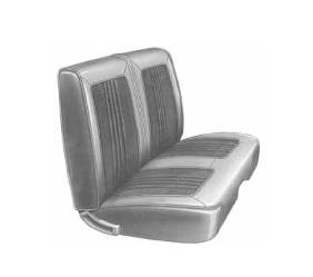 Dante's Mopar Parts - Mopar Seat Covers 1969 Coronet Deluxe B body Front Split Bench