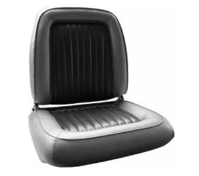 Dante's Mopar Parts - Mopar Seat Covers 1965 Dodge Polara Front Buckets - Image 1