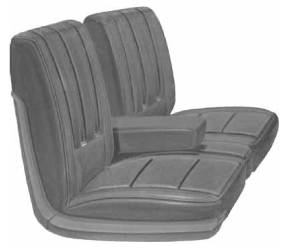 Legendary Auto Interiors - Mopar Seat Cover 1969 Plymouth Sport Fury Front Buckets - Image 1