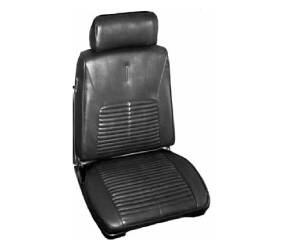 Dante's Mopar Parts - Mopar Seat Cover 1968 Chrysler 300 & Newport Front Buckets