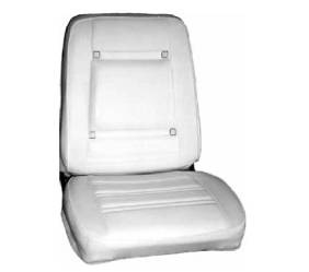 Dante's Mopar Parts - Mopar Seat Cover 1969 Chrysler 300 & Newport Front Buckets
