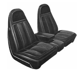 Dante's Mopar Parts - Mopar Seat Cover 1971 Chrysler 300 & Newport Front Bucket Seat Covers - Image 1