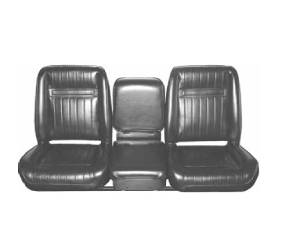 Dante's Mopar Parts - Mopar Seat Cover 1972-1973 Dodge D-100 & D-200 Truck Front Bucket Seat Covers - Image 1