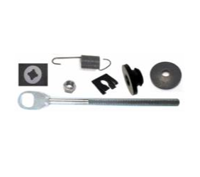 Dante's Mopar Parts - Mopar Clutch Release Rod Service Kit-1967-1976 A-body Small Block