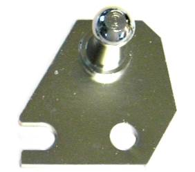 Dante's Mopar Parts - Mopar Clutch Bell Crank Bell Housing Ball Stud Bracket