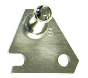Dante's Mopar Parts - Mopar Clutch Bell Crank Bell Housing Ball Stud Bracket B-Body - Image 1