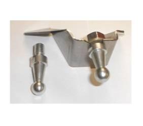 Dante's Mopar Parts - Mopar Clutch Bell Crank Frame Bracket Kit - Image 1