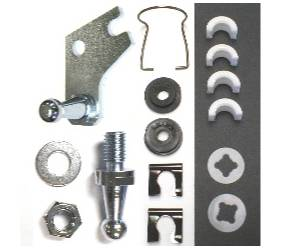 Dante's Mopar Parts - Mopar A-Body Clutch Pivot Shaft Service Kit 1968-1971 Small Block - Image 1