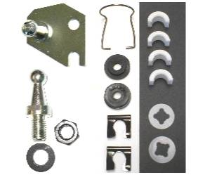 Dante's Mopar Parts - Mopar A-Body Clutch Pivot Shaft Service Kit 1972-74 Small Block A-Body