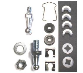Dante's Mopar Parts - Mopar B & E-Body Clutch Pivot Shaft Service Kit