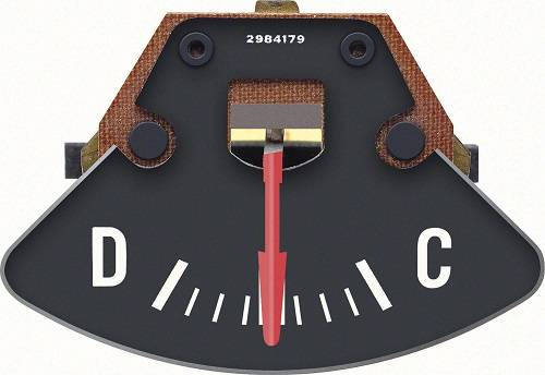 Dante's Mopar Parts - 70/74 E-Body Cuda Challenger Rallye Ammeter Gauge - Image 1