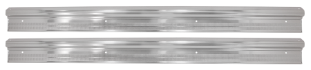 Dante's Mopar Parts - Mopar Door Sill Plates 1967-1976 A-body Dart Duster Valiant Barracuda Scamp - Image 1