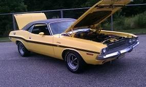 Dante's Mopar Parts - Mopar Vinyl Tops 1970-1972 Dodge Challenger - Image 1