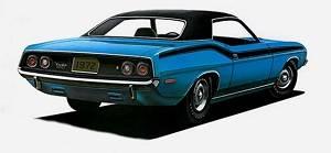 Dante's Mopar Parts - Mopar Vinyl Tops 1970-1974 Barracuda, 1973-1974 Challenger - Image 1