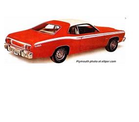 "Dante's Mopar Parts - Mopar ""Canopy"" Vinyl Tops 1973-1976 Duster,1973-1976 Dart Sport - Image 1"