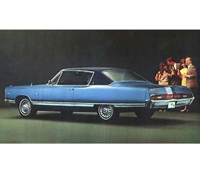 Dante's Mopar Parts - Mopar Vinyl Tops 1967-1968 C-body 2 door *Fast-Top* Fury VIP Polara Monaco Newport 300