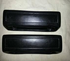 "Dante's Mopar Parts - Mopar 10"" Front or Rear Arm Rest Pads 1966-1970 B-body, 1966-1970 Dodge Charger (rear only), 1966-1970 C-body (rear only on 2 door cars) - Image 1"