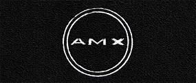 """Dante's Mopar Parts - Mopar Carpeted Floor Mats """"AMX in Circle"""" Logo - Image 1"""