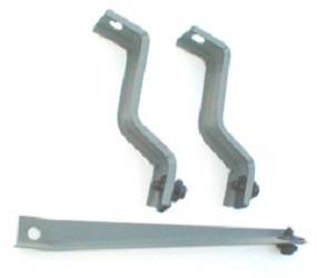 Dante's Mopar Parts - Mopar 1967-1969 B-Body Battery Tray Brace Set - Image 1