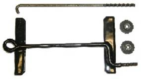 Dante's Mopar Parts - Mopar 1966 and up C-Body Battery Hold Down Kit - Image 1