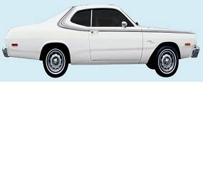 Dante's Mopar Parts - Mopar Stripes 1975 Dodge Dart Sport Sides & Over the Roof - Image 1