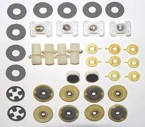 Dante's Mopar Parts - Mopar 1970-1971 Plymouth Duster, Dodge Demon Door Hardware Kit - Image 1