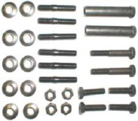 Dante's Mopar Parts - Mopar Exhaust Manifold Hardware Kit 1968-1970 340 HP - Image 1