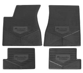 Legendary Auto Interiors - Mopar Vinyl Custom Vintage Floor Mats 1970-1974 Plymouth Barracuda