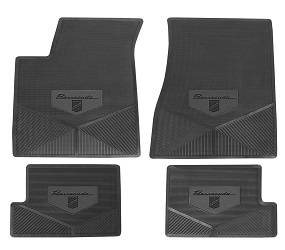 Legendary Auto Interiors - Mopar Vinyl Custom Vintage Floor Mats 1970 Plymouth Barracuda Gran Coupe