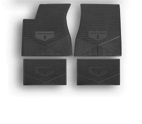 Legendary Auto Interiors - Mopar Vinyl Custom Vintage Floor Mats 1968-1974 Plymouth Road Runner - Image 1