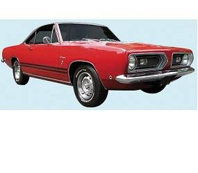Dante's Mopar Parts - Mopar Stripe Kit 1967-1968 Plymouth Barracuda - Image 1