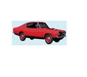 Dante's Mopar Parts - Mopar Stripe Kit 1969 Plymouth Barracuda Lower Stripe