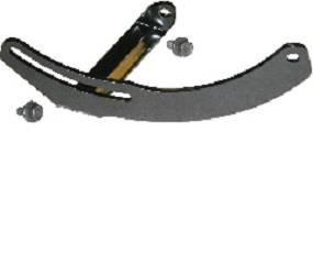 Dante's Mopar Parts - Mopar Alternator Adjustment Strap- 1970-1974 B & E-Body Small Block applications with Air Conditioning