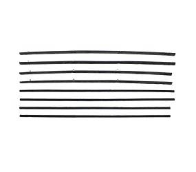 Dante's Mopar Parts - Cat Whiskers Top Cat  Correct Side Window Sweep Kits 1966-1967 Dodge Charger - Image 1