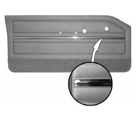 Legendary Auto Interiors - 1965 Dart GT Bucket Style Rear Door Panel