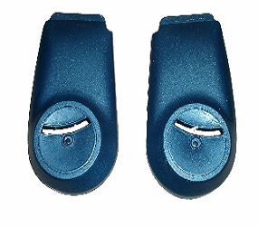 Dante's Mopar Parts - Mopar Bench Seat Hinge Covers-1973-1976 A-body Dart Duster Dart Sport - Image 1