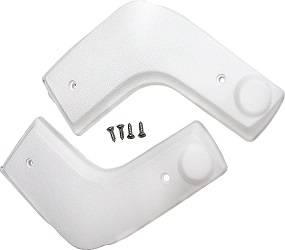 Dante's Mopar Parts - Mopar Bench Seat Hinge Covers-1970-1976 A-body